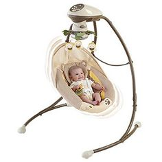 Fisher Price My Little Sweetie Baby Cradle & Swing w