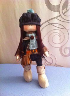 Muñeca rusa, fabric doll, handmade