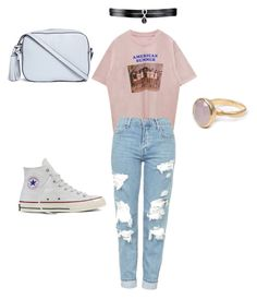 """""""Coolgirl"""" by indiebitch on Polyvore featuring Mode, Topshop, Converse, Tory Burch, Fallon und Bohemia"""