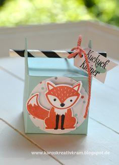 """Karos Kreativkram: """"Willkommen auf der Welt"""", sagt der kleine Fuchs."""