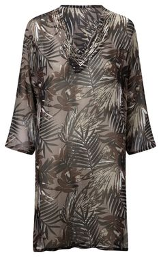Damart Beach Dress Taupe Product code: W883 www.damart.co.uk
