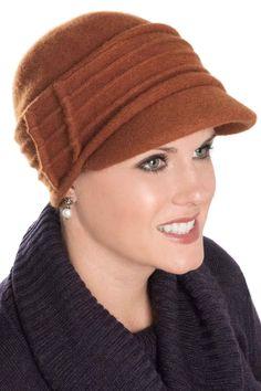 Caroline Newsboy Hat - Wool Winter Hats for Women eae380d4c77