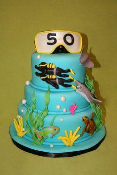 like the ocean cake