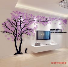 Find great deals for Happy Tree Mural 3D hágalo usted mismo Tv Sofá Salón Dormitorio Fondo Pegatinas de Pared. Shop with confidence on eBay!