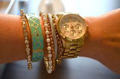Simple, elegant, & stacked!