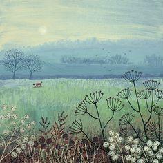 Misty Morning by Jo Grundy Canvas Wall Art