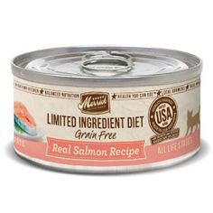 Merrick Limited Ingredient Diet Grain Free Salmon Canned Cat Food, 5 oz., Case of 24 >>> Be sure to check out this awesome product. (This is an affiliate link and I receive a commission for the sales)