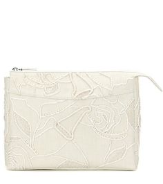 The Row Two For One 12 Embellished Canvas Clutch For Spring-Summer 2017