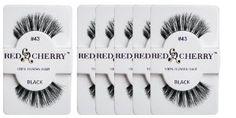 Red Cherry #43 False Eyelashes Pack of 6 Pairs Review   Best Eyelash Growth. #RedCherry#43FalseEyelashes