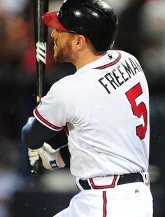 Freddie Freeman Continues Hot Streak