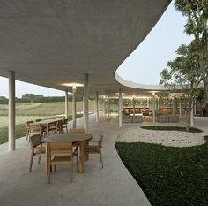 Fazenda Boa Vista Equestrian Center Clubhouse