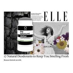 Beauty editor's pick for best natural deodorant. ELLE features the charcoal deodorant Natural Deodorant That Works, Charcoal Deodorant, Blush Brush, Clean Beauty, Voss Bottle, Health And Beauty, Detox, Skin Care, Nature