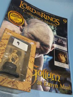 Collectors Hand Painted Lead Model Magazine LOTR Eaglemoss 9 Gollum Emyn Muil in Collectables, Fantasy/ Myth/ Magic, Lord of the Rings/ Tolkien   eBay