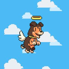 Vuela alto perro de Lipigas. 8 Bit, Hama Beads, Game Design, Motion Graphics, Pixel Art, Gifs, Park, Awesome, Fictional Characters