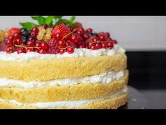 Prosty tort urodzinowy z owocami i bitą śmietaną, krok po kroku 💛💛 - YouTube Cheesecake, Cook, Youtube, Recipes, Cheesecakes, Recipies, Ripped Recipes, Youtubers, Cherry Cheesecake Shooters