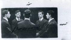 """Umnberto Boccioni, autoritratto """"Io - Noi"""" (1907)"""