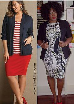 Dicas para valorizar a silhueta plus size - parte 2 | Aline Kilian Consultora de Estilo Personal Stylist Moda Lifestyle