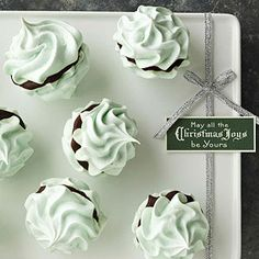 Mint Meringue Kisses From Better Homes and Gardens, ideas and improvement projects for your home and garden plus recipes and entertaining ideas.