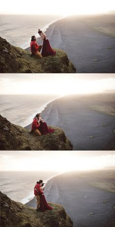 This marriage proposal in Iceland is breathtakingly gorgeous, and the story is so romantic!