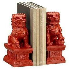 Fu Dog Bookends