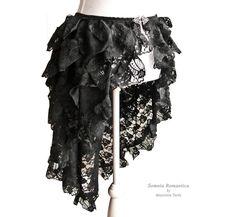 Bustle skirt Segura burlesque victorian van SomniaRomantica op Etsy, $99.00