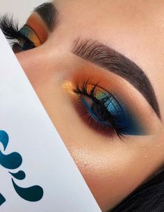 Make-up-Community Beauty-Community Hautpflege-Community Projekt-Pan Panning-Mak Makeup Eye Looks, Beautiful Eye Makeup, Eye Makeup Art, Colorful Eye Makeup, Cute Makeup, Skin Makeup, Eyeshadow Makeup, Eye Makeup Designs, Glam Makeup