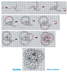 I need to practice this with graph paper! (2011-10) Oscillate