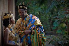 Beautiful Ivorian wedding ♥Photo by: Joana Choumali /Daniel Sery