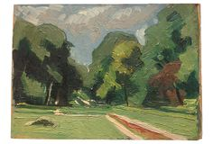 Post-Impressionistic Landscape on OneKingsLane.com