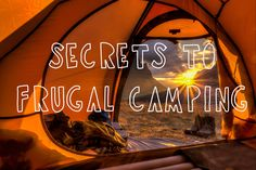 Do you still want to go #camping even though you don't have the budget for all the gear and set-up? We got you covered! Here are seven ways to save for camping on a #budget: http://www.highwaywestvacations.com/7-secrets-to-frugal-glamping/.