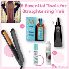 5 Essential Tools For Straightening Hair #oribe #girlsguide