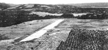 The airfield at Lunga Point on Guadalcanal under construction by the Japanese in July 1942