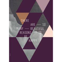 Autorský plakát Reason Plum, 50x70 cm | Bonami