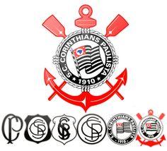 Sport Club Corinthians Paulista Logo [EPS File] vai corinthians gloria 8 a 0 timao Football Team Logos, Soccer Logo, Football Soccer, Sports Logo, Soccer Jerseys, Basketball, Sport Club Corinthians, Corinthian Casuals, Pintura