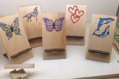 Custom Engraved & Hand Painted Cell Phone & Ipod Stands