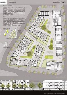 Landscaping Architecture Masterplan Projects 70 Ideas Best Picture For Landscape Archit Social Housing Architecture, Masterplan Architecture, Architecture Design, Landscape Architecture Drawing, Landscape Design, Architecture Interiors, The Plan, How To Plan, Planer Layout