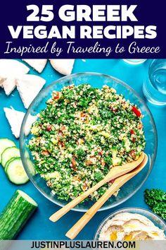 Greek Recipes, Wine Recipes, Greek Meals, Kitchen Recipes, Vegan Greek, Greek Cooking, Greek Dishes, Best Street Food, Food Inspiration