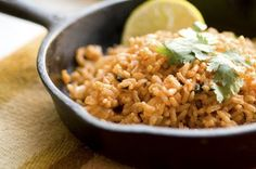 With beans comes rice   Homesick Texan
