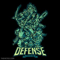 Defense Team By Adam, today at The Yetee!