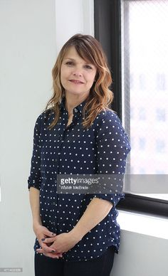 Kathryn Erbe during the photo call for the Rattlestick Playwrights. Kathryn Erbe, Playwright, Some Girls, Polka Dot Top, July 5th, Actresses, Blouse, Movie Stars, Writers