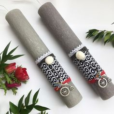 Greek Easter, Easter Crafts, Happy Easter, Decoupage, Diy And Crafts, Easter Candle, Candles, Macrame, Handmade