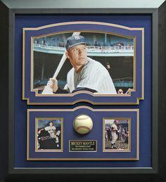 Signature Royale - Mickey Mantle Signed Baseball Framed Display., $950.00 (http://www.signatureroyale.com/mickey-mantle-signed-baseball-framed-display/)