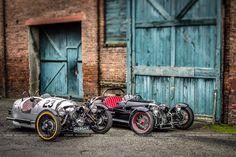 Morgan 3-wheeler & Ace Cycle-Car