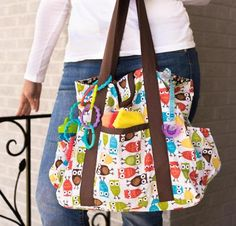 Kwik Sew Diaper Bag Kit - Sewing Kit includes Fabric & Pattern!
