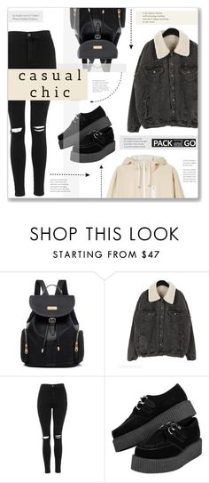 """""""#253) WINTER GETAWAY"""" by fashion-unit ❤ liked on Polyvore featuring Topshop and Packandgo"""