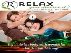 Exfoliate The Body With Wonderful Thai Herbal Massage
