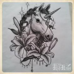 Instead of Lily's I would have Thistles on it, would be a nice scottish tattoo!! Thistles & the unicorn the animal of scotland