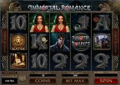 Immortal Romance Forbidden love and dark desire set the scene for a revolutionary gaming experience. Drawing on the popularity of supernatural love in contemporary fiction, Immortal Romance creates a world in which two dangerous vampires, an enchanting wi