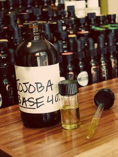 A great tutorial on how to make your own perfume, using Jojoba Oil as a base.