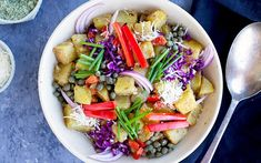 <p>Roasted potato salads in general make a great side dish for all sorts of meals. This recipe brings this idea to the next level by adding some delicious Brazil nut Parmesan cheese. </p>